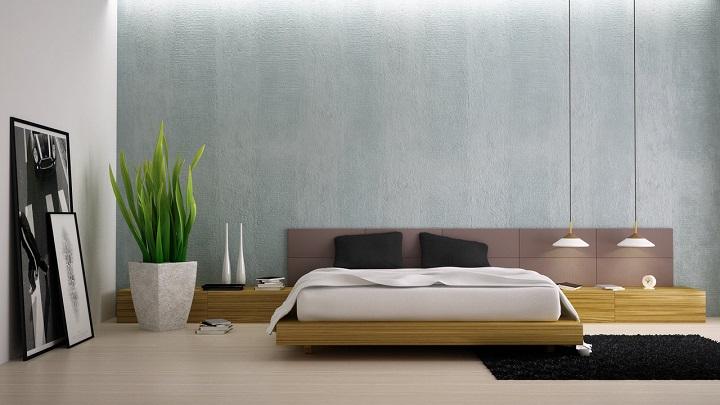 dormitorio plantas