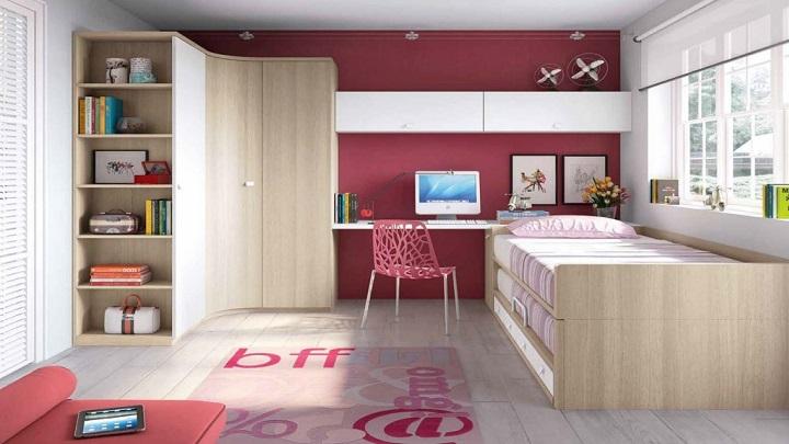 Fotos de habitaciones de chicas adolescentes for Habitaciones juveniles chica