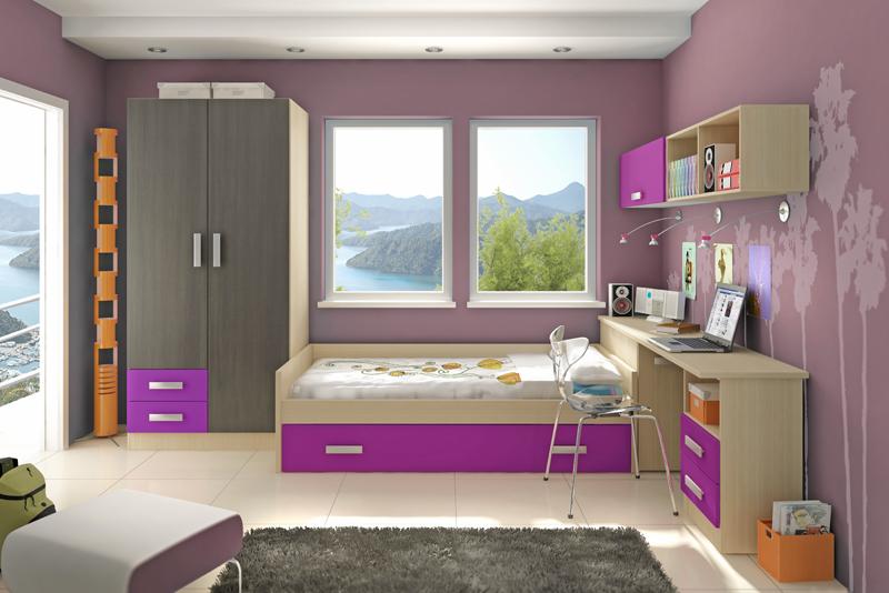 Habitacion chica18 - Habitaciones decoracion juvenil ...