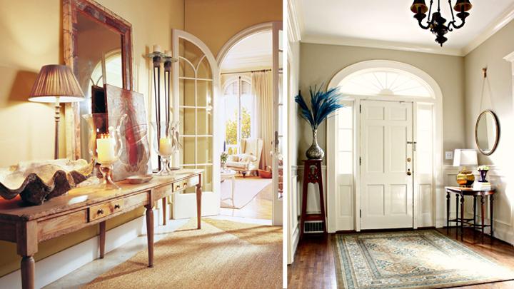 Ideas para decorar el recibidor - Espejos para el recibidor ...