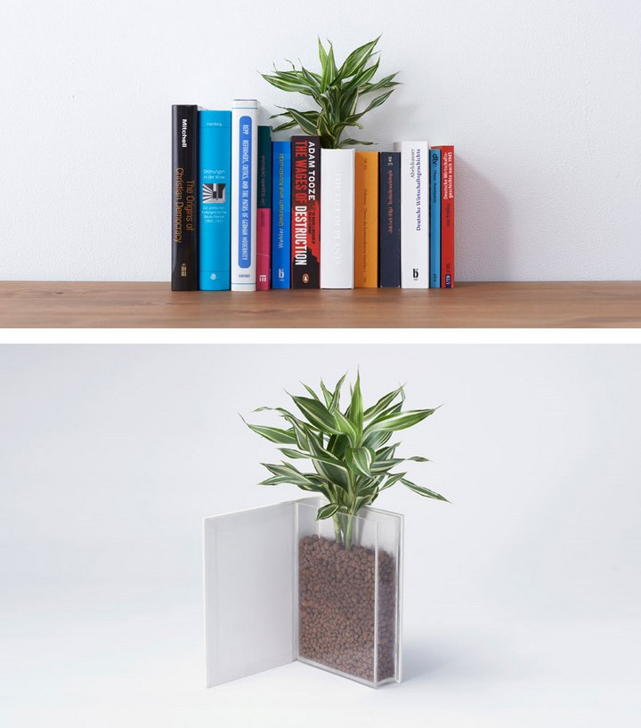 maceta libros