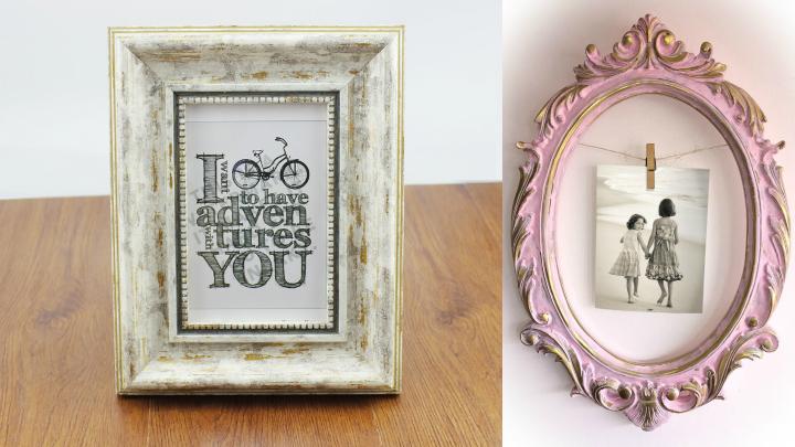 Crea tus marcos de fotos vintage - Diy marcos para fotos ...