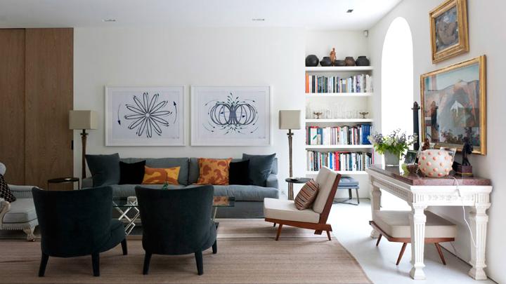 c mo combinar muebles modernos y antiguos On como cambiar un mueble clasico en moderno