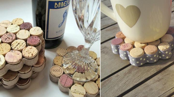 Manualidades con corchos de botellas para decorar - Regalos originales para la casa ...