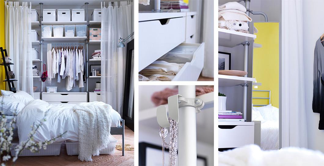 Ikea armarios de dormitorio simple armarios de ikea with for Armario rinconero ikea