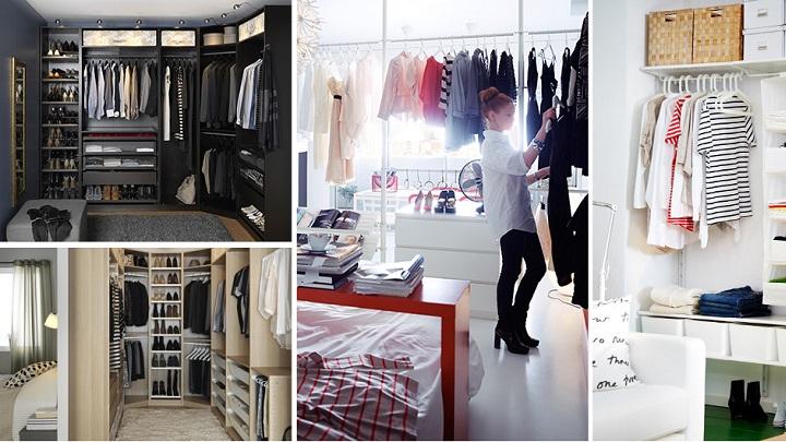 Vestidores de moda para el dormitorio - Vestir un armario ...
