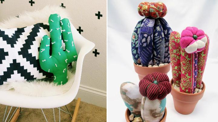 Cactus de tela decoracion2