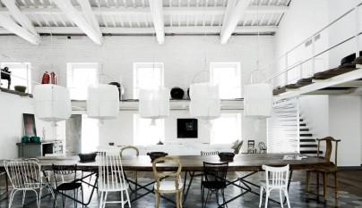 Casa estilo industrial Italia 12