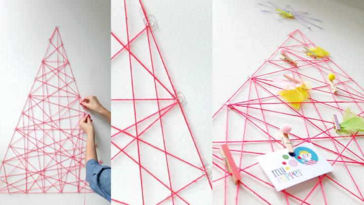 DIY arbol navidad1