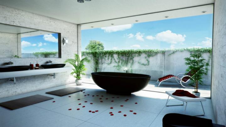 Ideas Baño Relajante:Decoracion relajante3