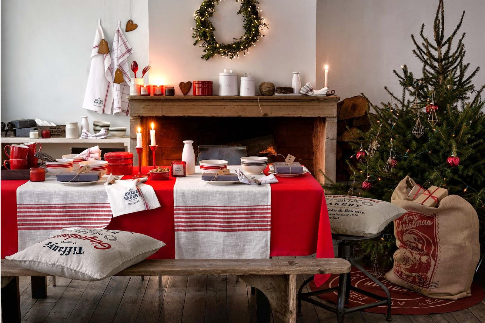 Textiles navidad 4 for Decoracion de salon navideno