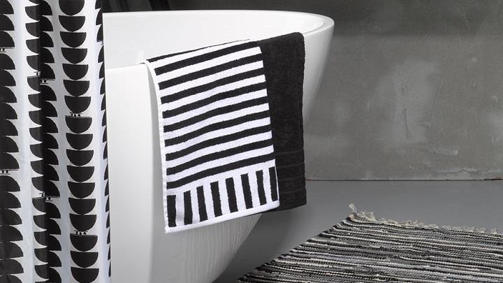 Primark hogar decorar la casa en blanco y negro - Cortinas ducha primark ...
