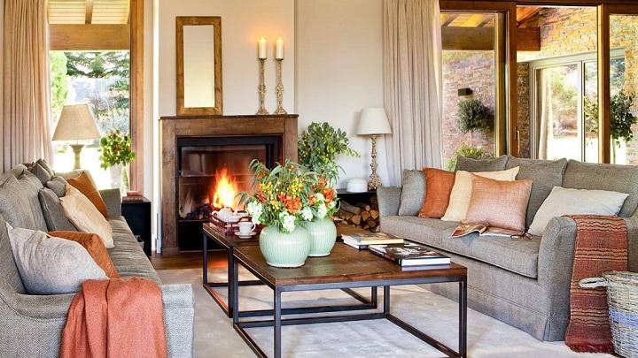 Decorablog revista de decoraci n for Salones minimalistas con chimenea