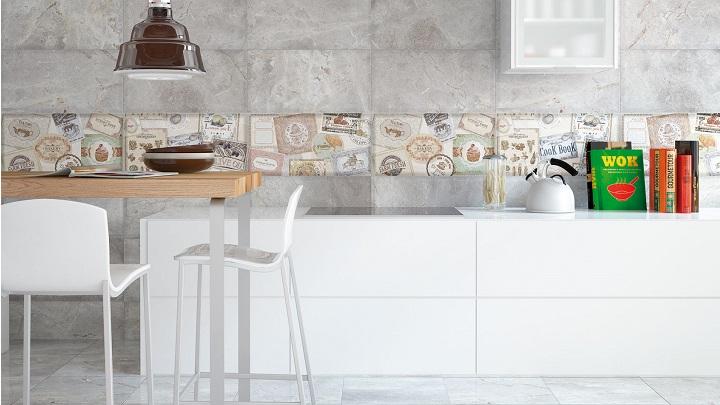 Cocinas de concreto y azulejo modernas - Azulejos para cocina modernos ...