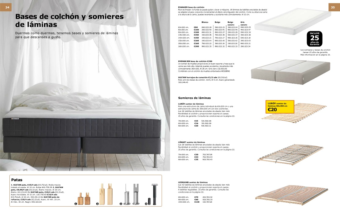 Decorablog revista de decoraci n - Ikea catalogo colchones ...