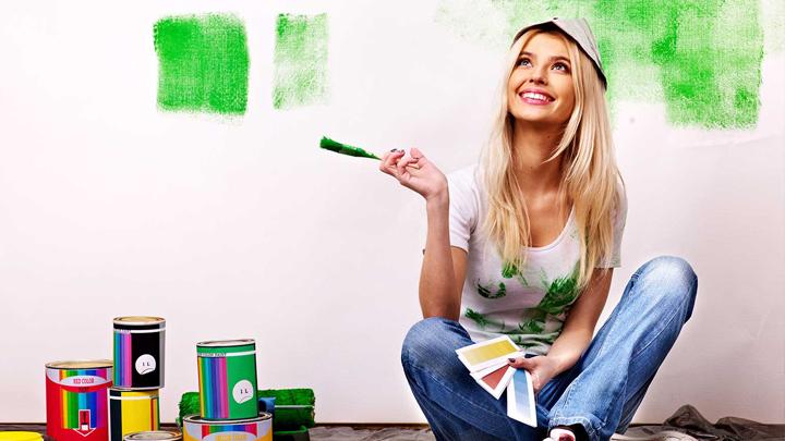 como hacer pinturas caseras y naturales para decorar