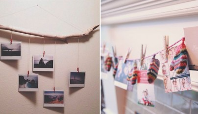 Decorar con cuadros y marcos de fotos - Cuadros sin marco ...
