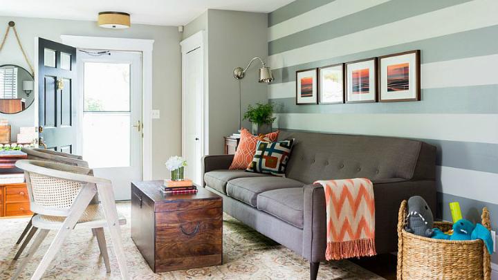 decoracion rayas hogar