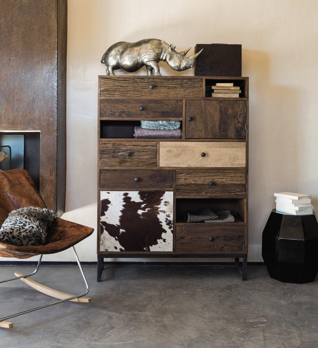 Muebles y complementos de estilo africano for Muebles africa