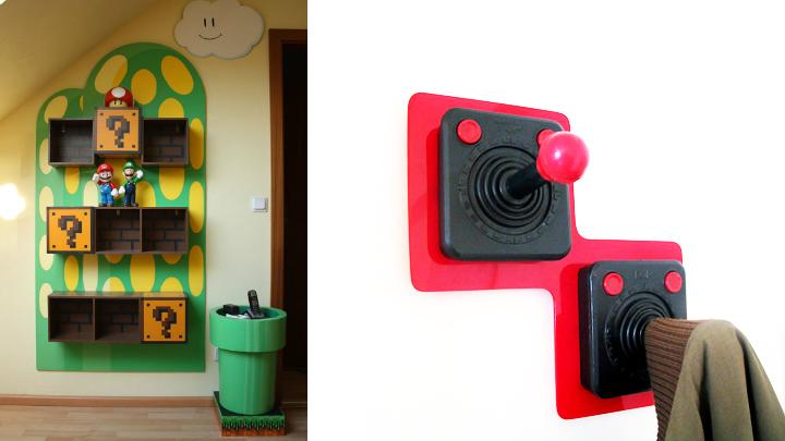 decorar una vivienda friki