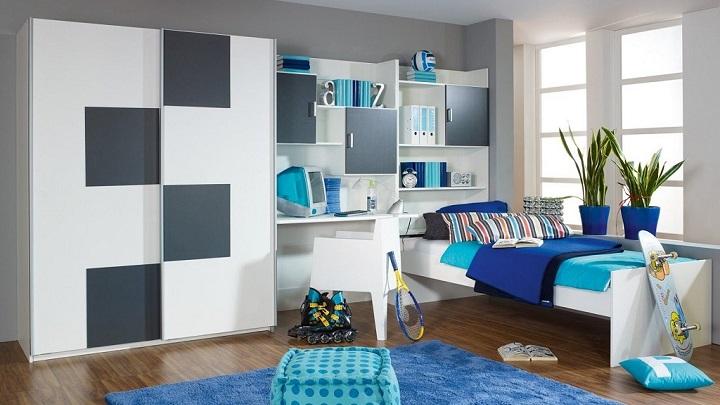 Fotos de habitaciones de chicos adolescentes - Habitaciones juveniles para chico ...