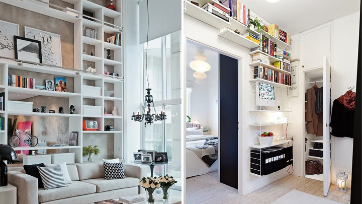 Grandes ideas para aprovechar espacios en casa - Aprovechar espacio dormitorio ...