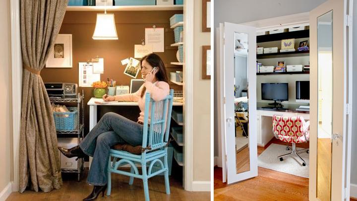 ideas para transformar un armario empotrado