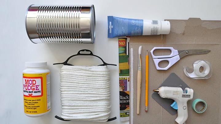 materiales DIY cubilete