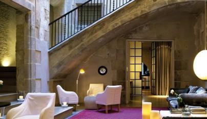 Decoraci n en habitaciones de hoteles for Hoteles diseno espana