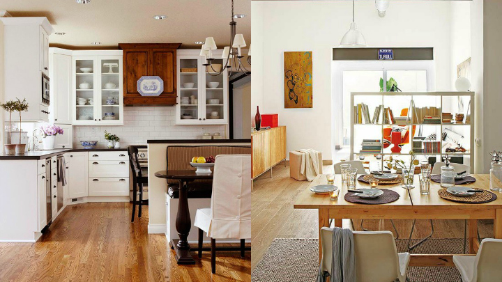 Ideas para separar espacios for Separacion de muebles cocina comedor