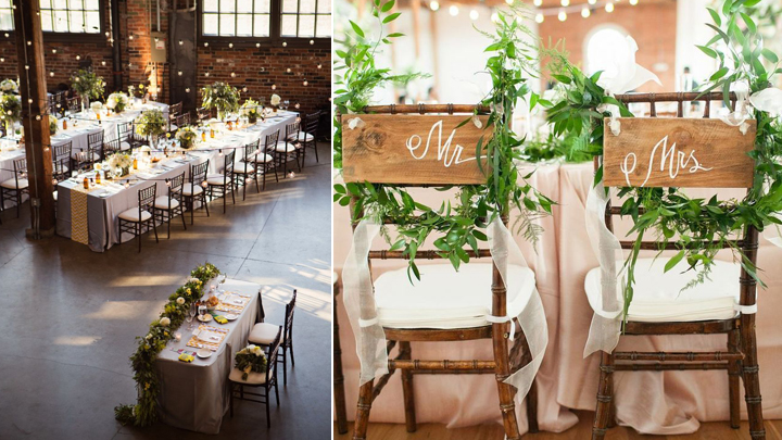 tendencias en decoracion de bodas 2016