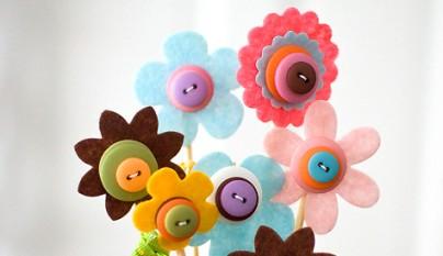 DIY decoracion botones 4