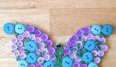 DIY decoracion botones 6