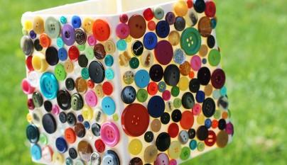 DIY decoracion botones 9