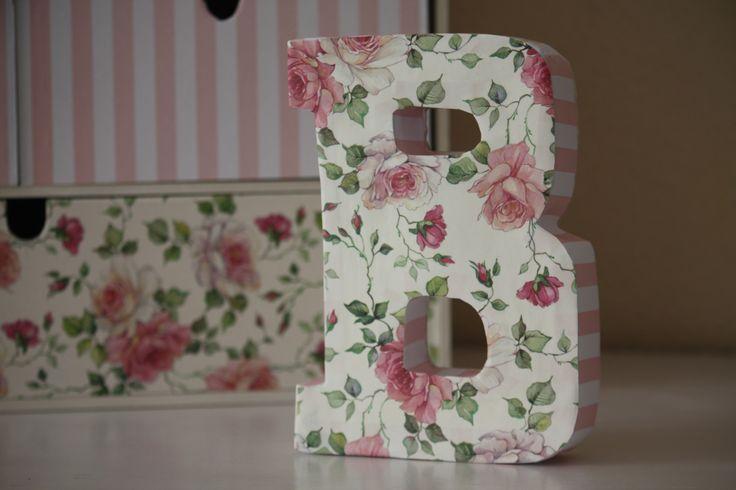 Diy letras madera 6 - Como decorar letras de madera ...
