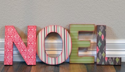 DIY letras madera 7