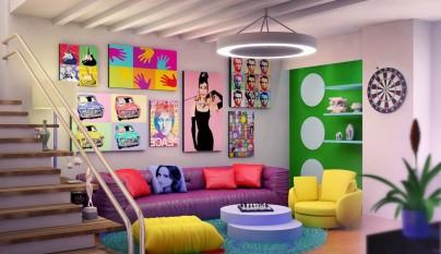 Decoracion muebles retro 11