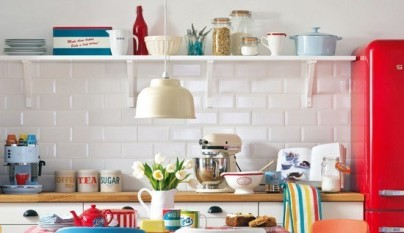 ideas para decorar una cocina con estilo vintage On objetos para decorar cocinas