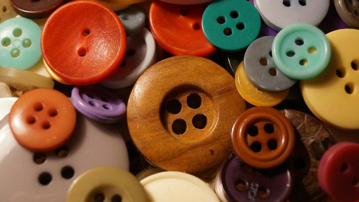 Manualidades botones
