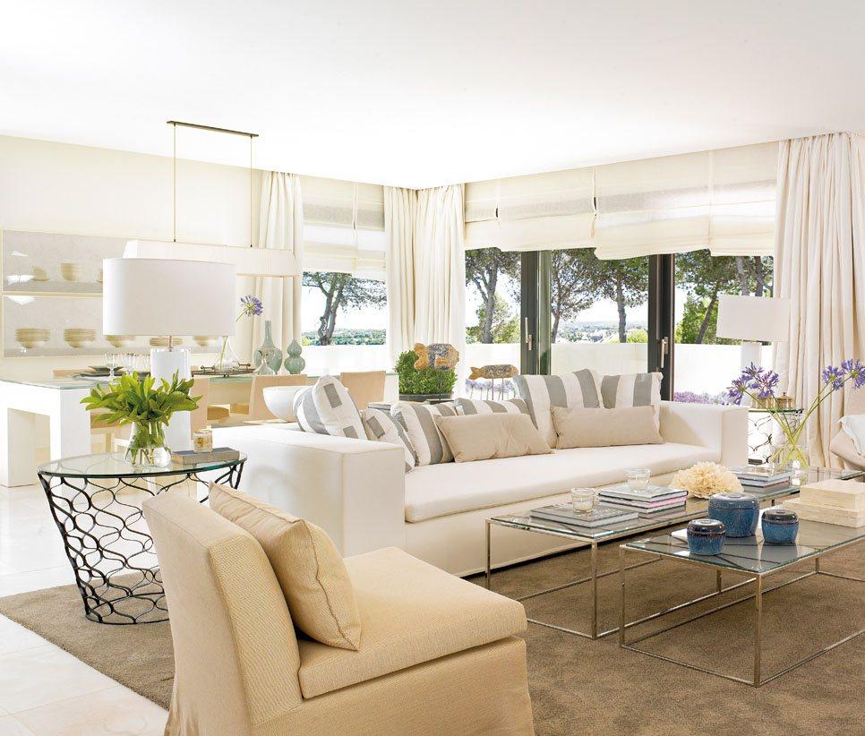 Salon blanco5 - Salones decorados en blanco ...