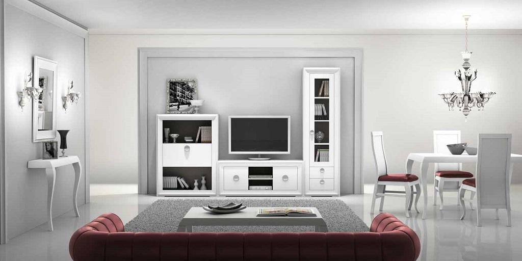 Salon blanco7 - Salones decorados en blanco ...