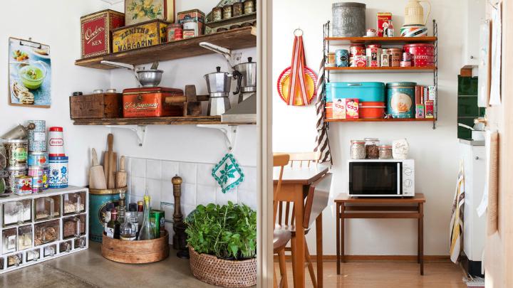 Ideas para decorar una cocina con estilo vintage for Accesorios cocina