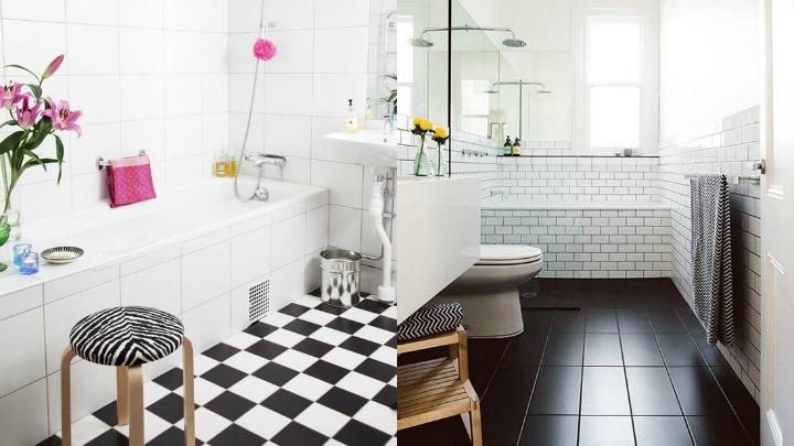 nordic bathroom color