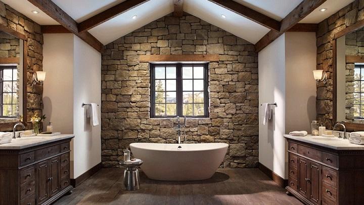 Cuartos De Baño Estilo Rustico: de imágenes de baños de estilo rustico ¡Seguro que te sirven de