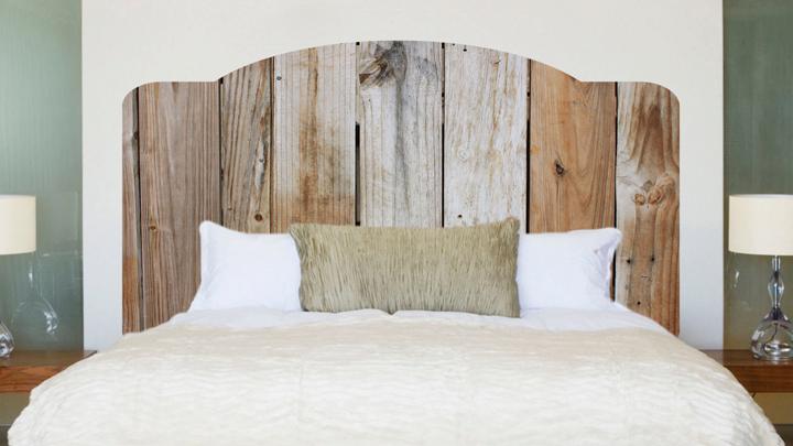 Los cabeceros de cama m s decorativos - Cabeceros de cama rusticos ...