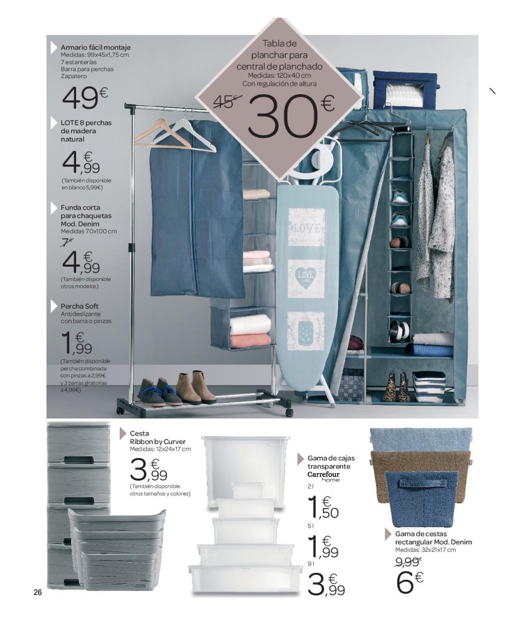 Iluminacion Baño Carrefour:Carrefour: catálogo de decoración 2016 (25/74)