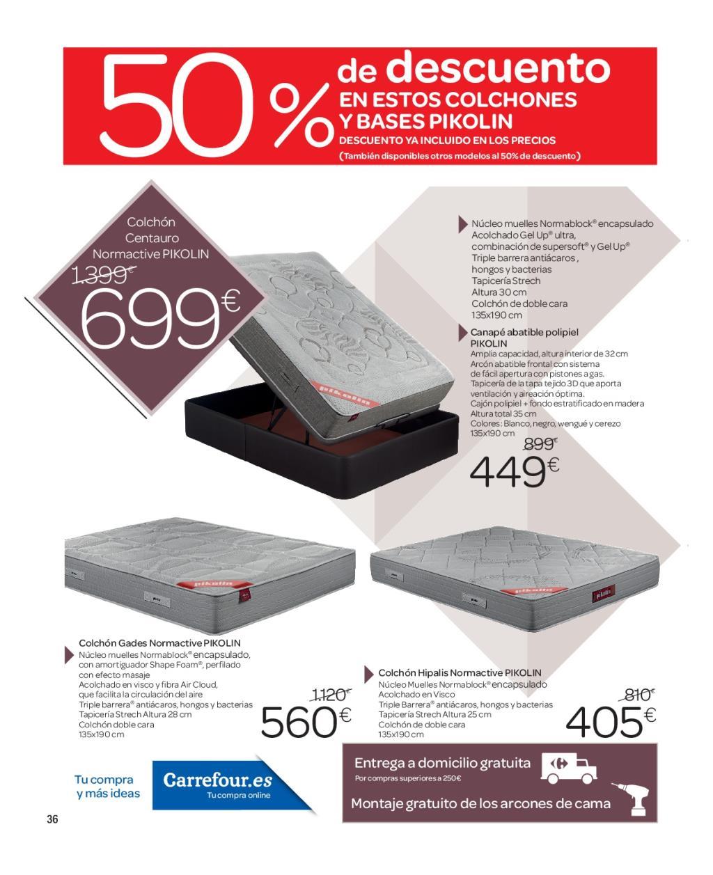 Iluminacion Baño Carrefour:Carrefour: catálogo de decoración 2016 (35/74)