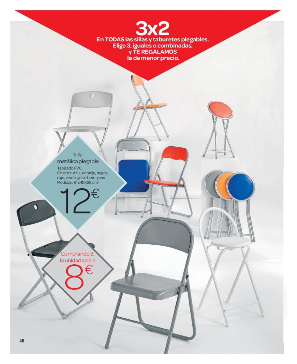 Iluminacion Baño Carrefour:Carrefour: catálogo de decoración 2016 (45/74)