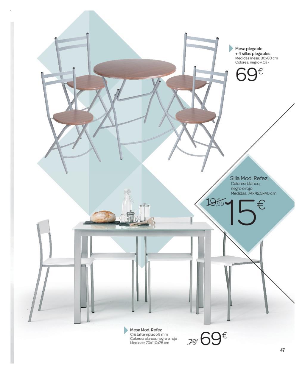 Iluminacion Baño Carrefour:Carrefour: catálogo de decoración 2016 (46/74)