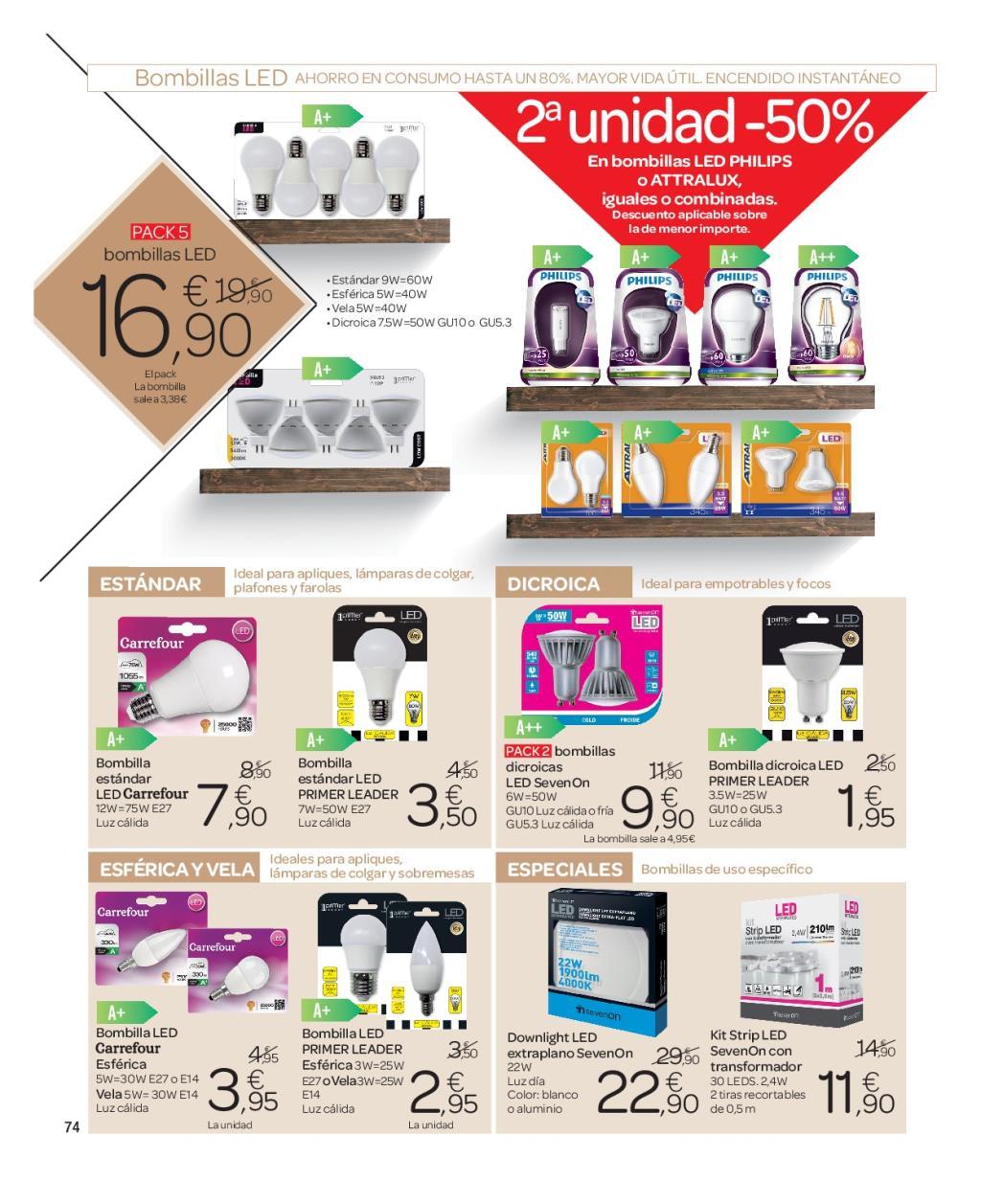 Iluminacion Baño Carrefour:Carrefour: catálogo de decoración 2016 (72/74)